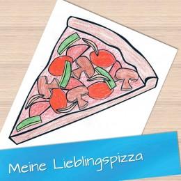 Meine Lieblingspizza 1